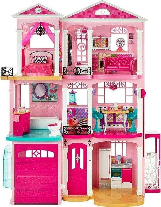 prezent, domek Barbie