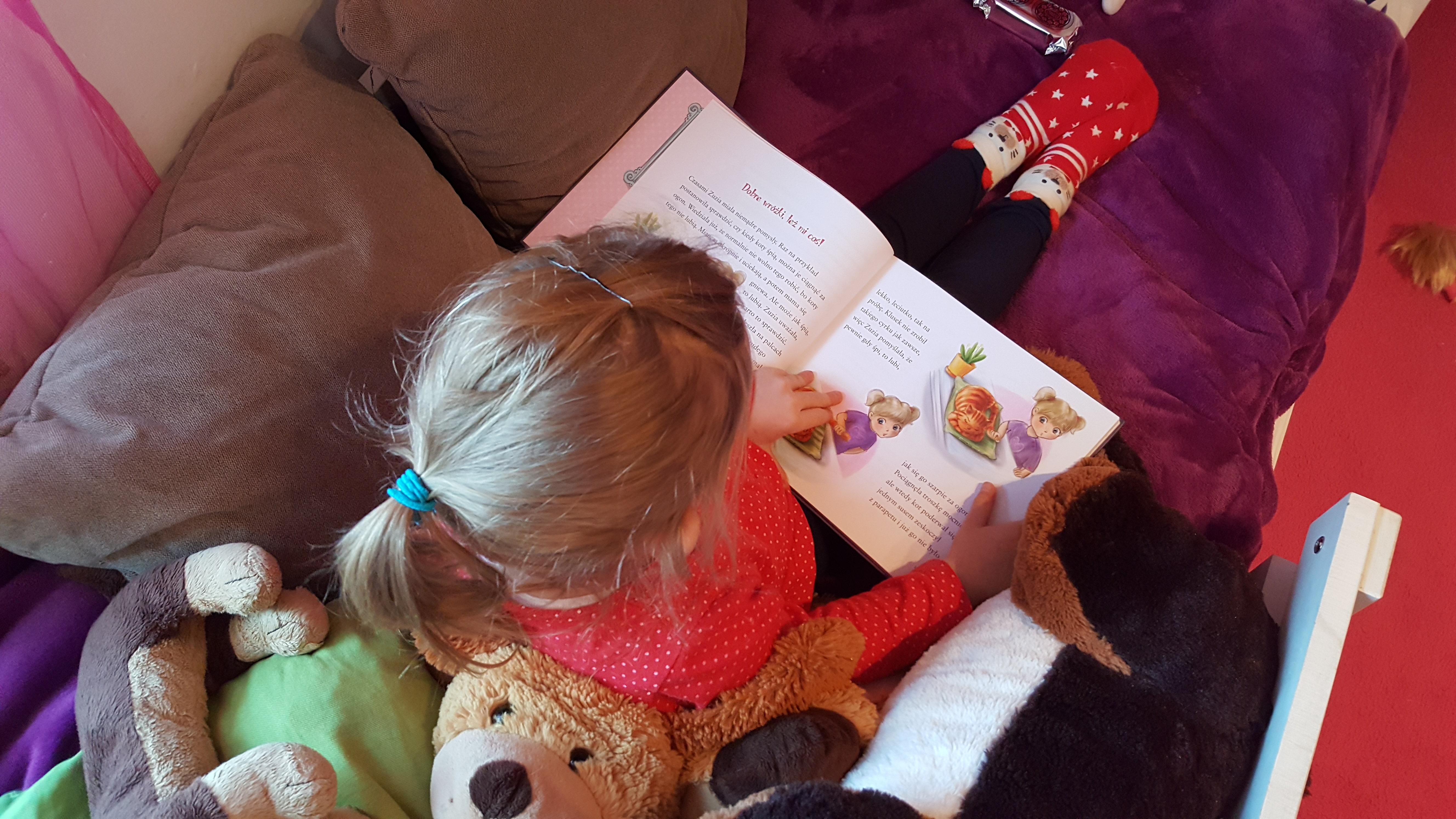 Książeczki dla dziewczynek