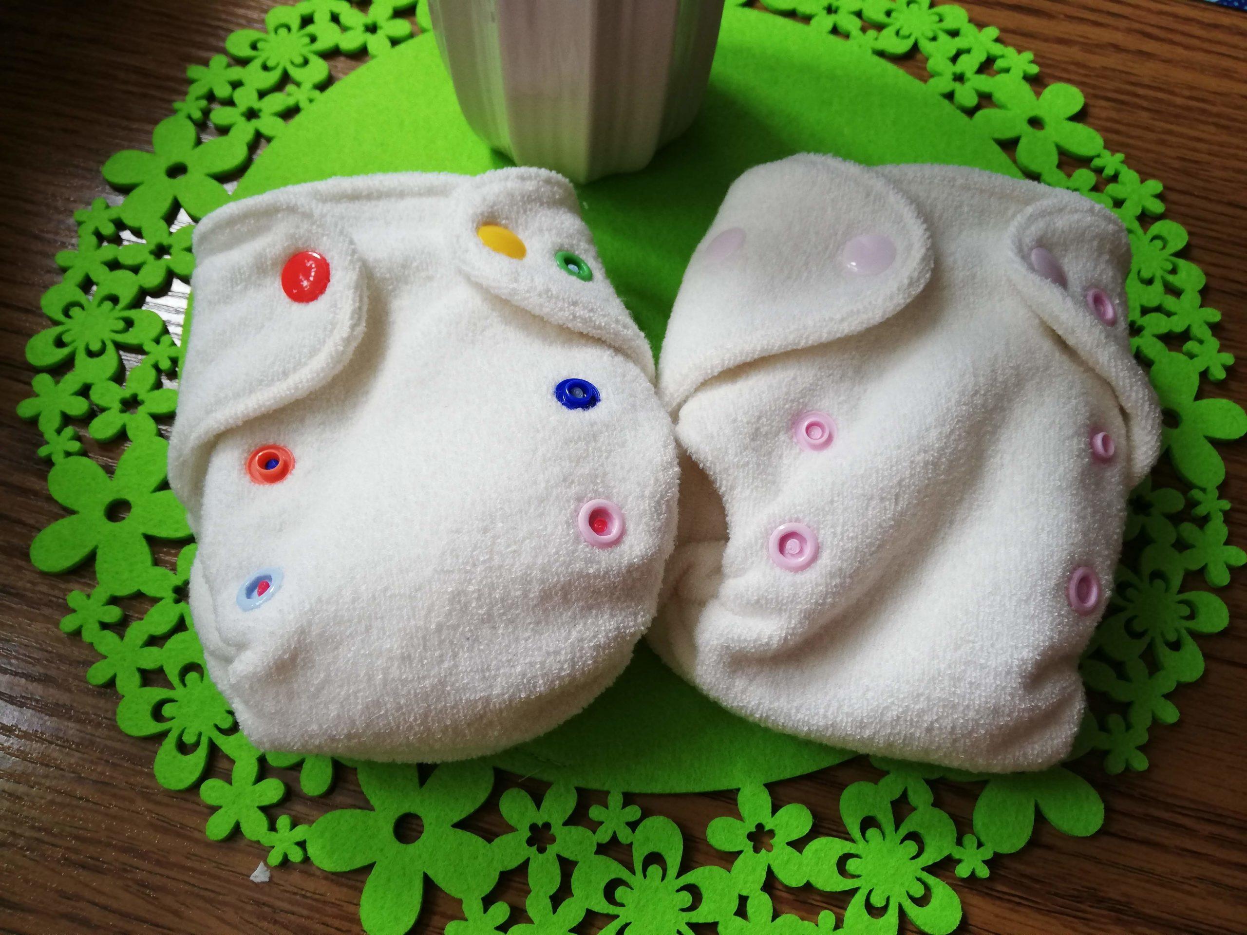 wielopieluchowanie noworodka formowanki