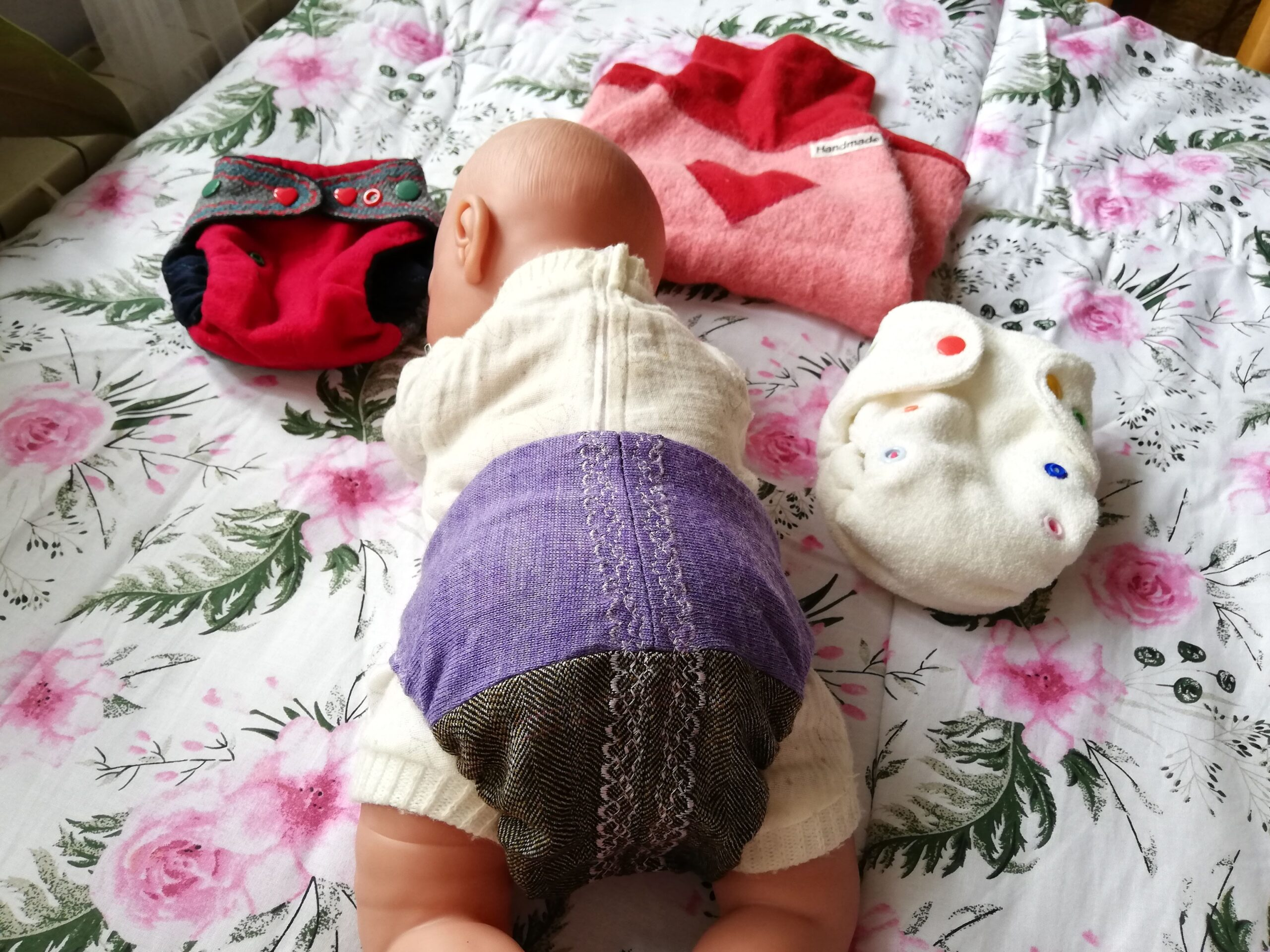 wielopieluchowanie noworodka